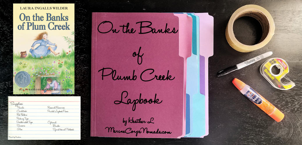 On the Banks of Plum Creek Lapbook