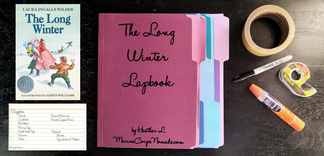 The Long Winter Lapbook