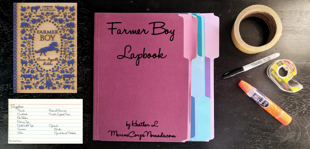 Little House Farmer Boy Lapbook