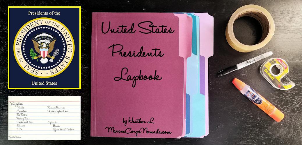 United States Presidents Lapbook