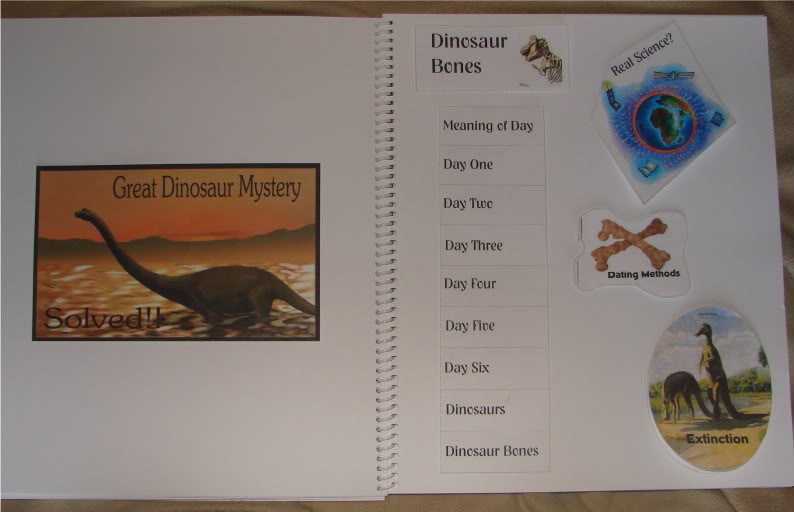 Great Dinosaur Mystery Solved Lapbook