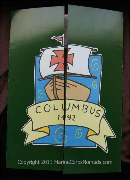 christopher columbus lapbook cover