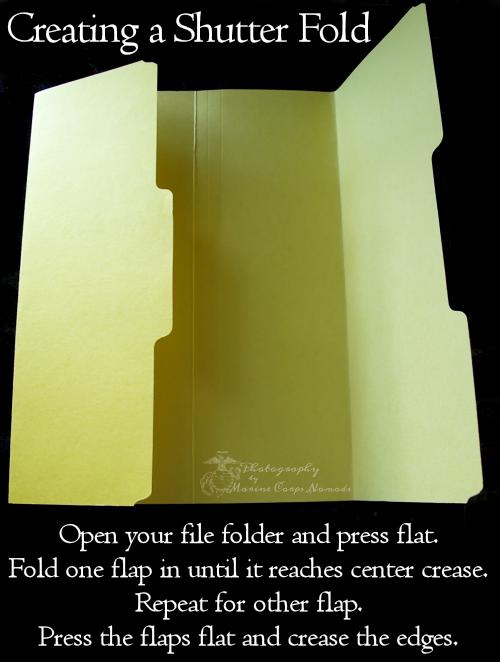 Create a Shutter Fold