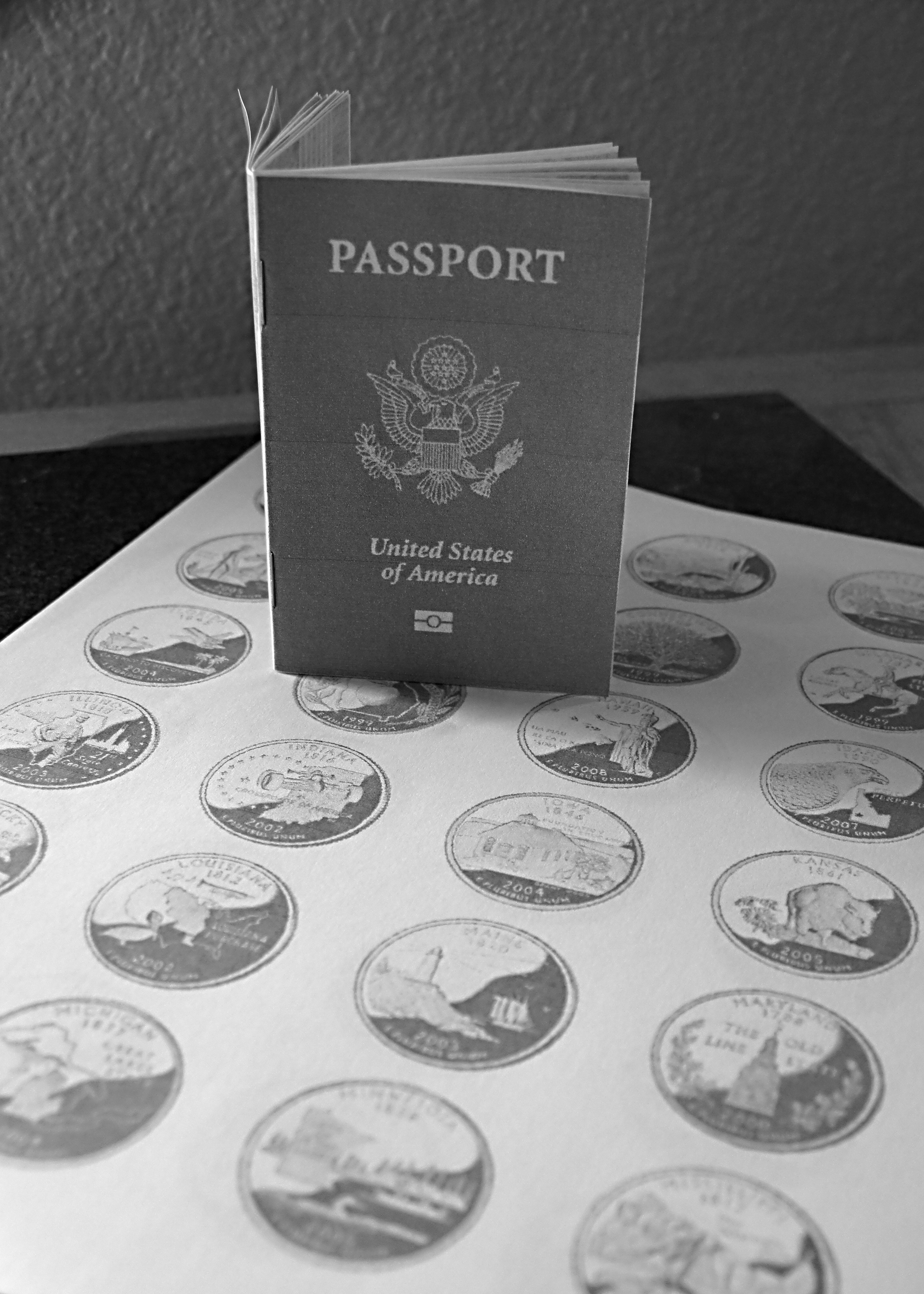picture regarding Printable Passports titled Printable Pport with Nation Stamps - Maritime Corps Nomads