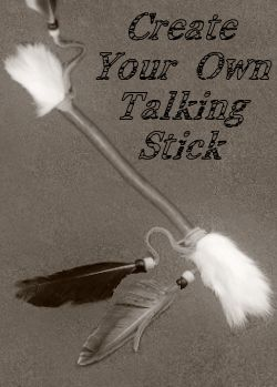 Native American Talking Stick Craft http://marinecorpsnomads.com/2012/12/native-american-talking-stick-craft.html