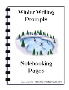 Winter Writing Prompts Cover