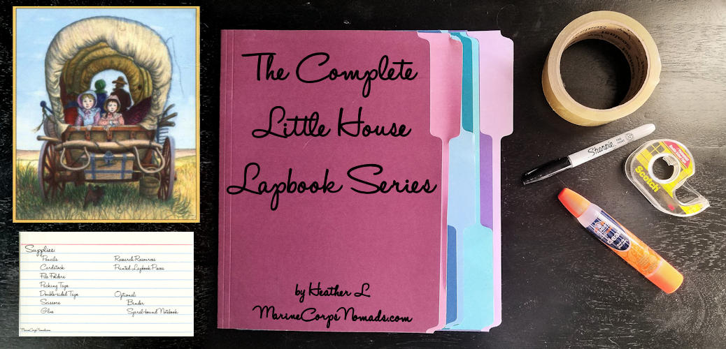 The Complete Little House Lapbook Series