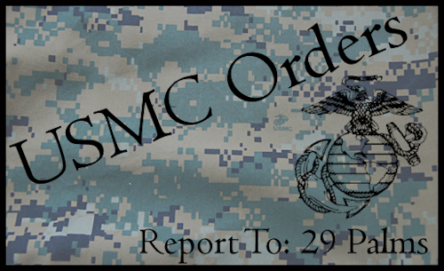 USMC Orders