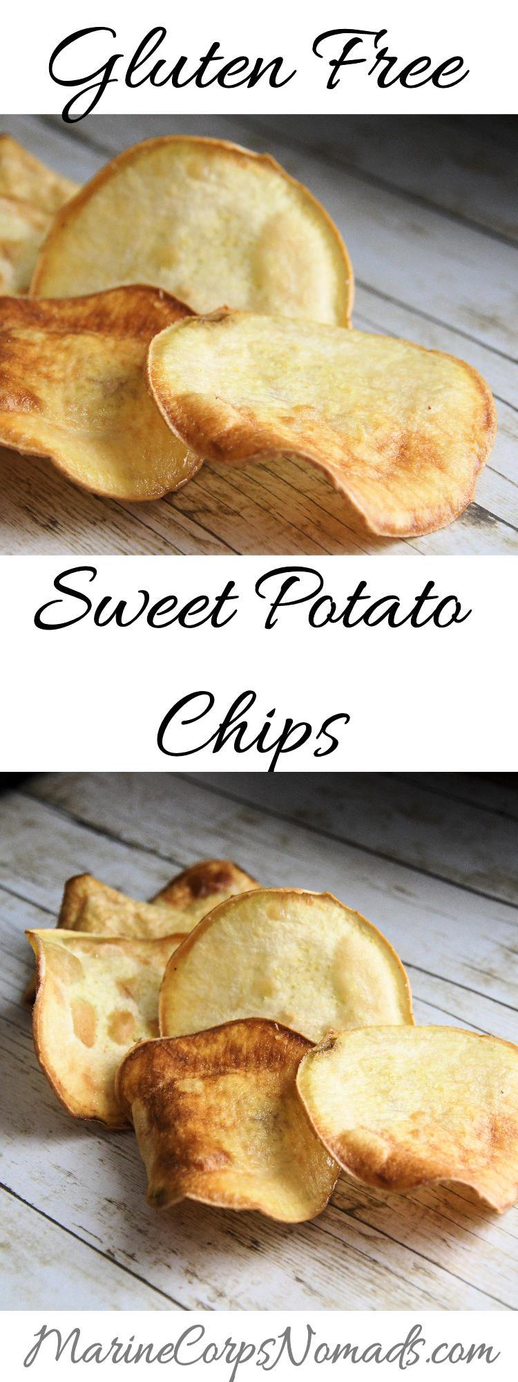 Homemade Gluten Free Sweet Potato Chips   Snacks   Marine Corps Nomads