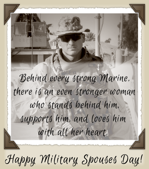 Happy Military Spouses Day