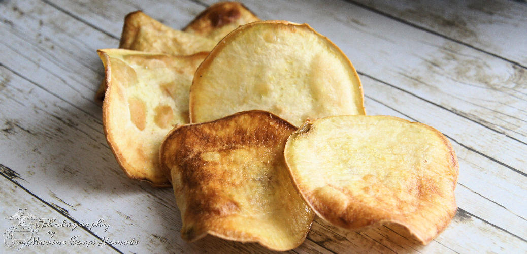 Homemade Gluten Free Sweet Potato Chips