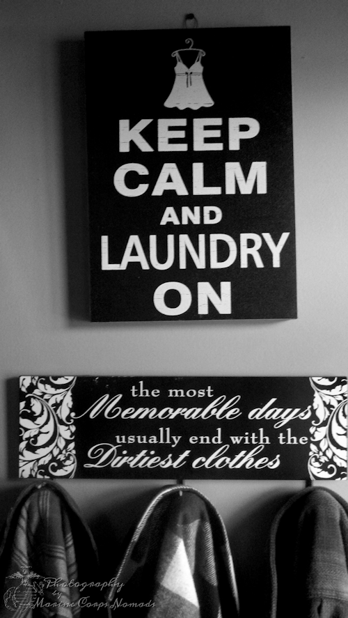 Keep Calm Laundry On