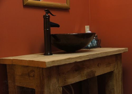 Rustic Bathroom Vanities Bathroom Vanity Rustic Bathroom