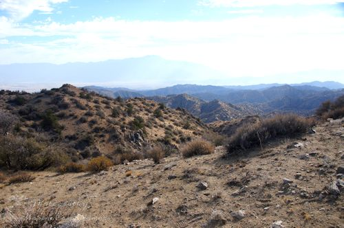 View from Eureka Peak Trail