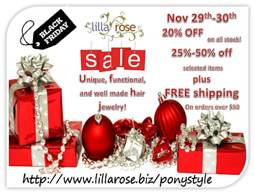 Lilla Rose Black Friday Sale