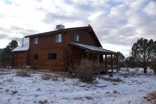 Snowfall at the Cabin