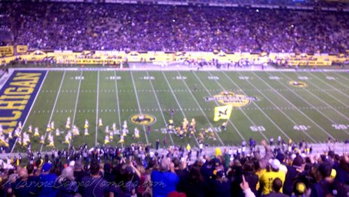 Michigan Takes the Field