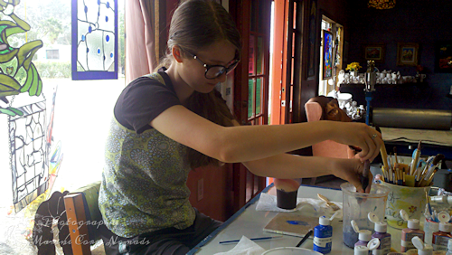 Painting Pottery 1