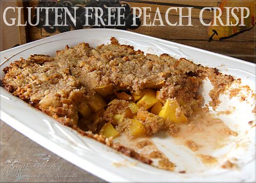 Gluten Free Peach Crisp - Marine Corps Nomads