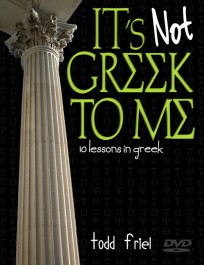 It's Not Greek to Me DVD with Todd Friel