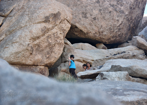 Cousins in the Rocks