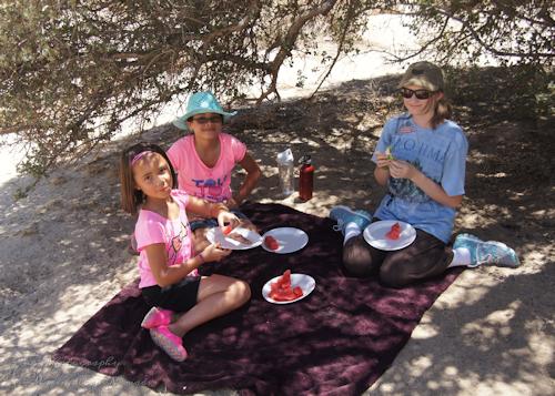 Picnic Lunch Girls