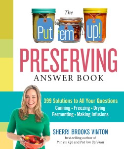 Put 'em Up! Preserving Answer Book by Sherri Brooks Vinton