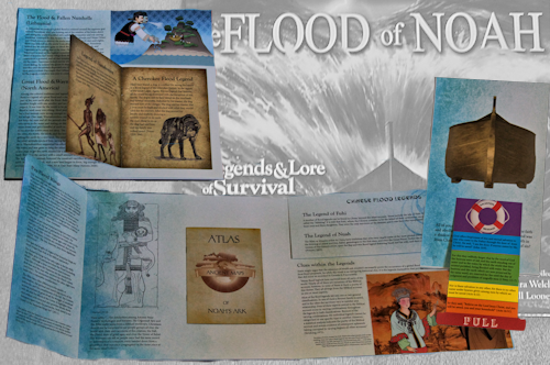The Flood of Noah Collage