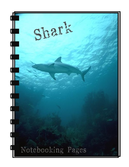 Shark Notebooking Pages