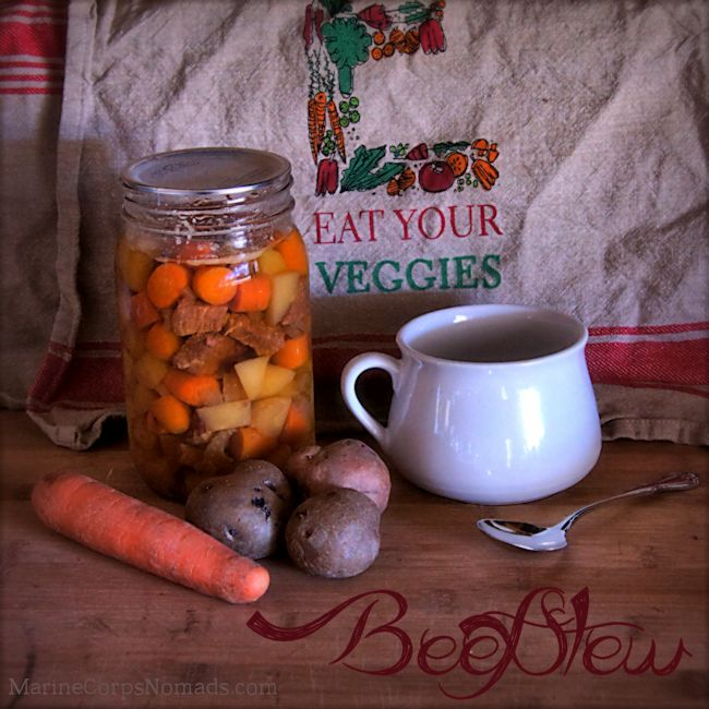 Beef Stew with Canning Instructions