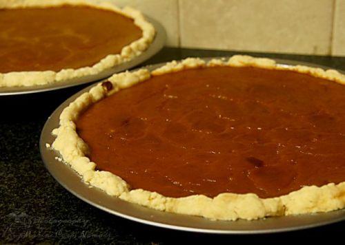 Gluten Free Pumpkin Pies