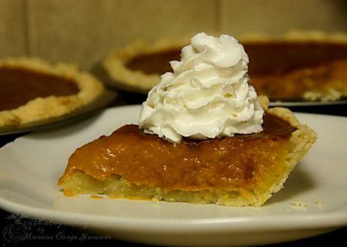 Gluten Free Pumpkin Pie Slice