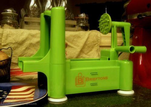 Brieftons Tri-Blade Spiral Slicer