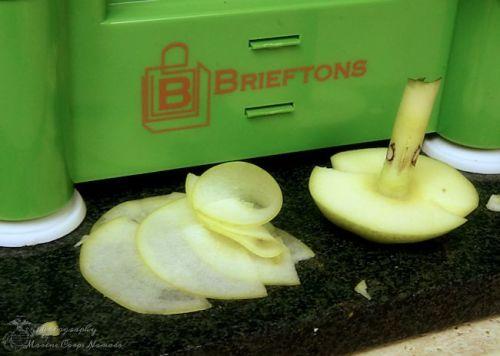 Brieftons Tri-Blade Spiral Slicer Flat Blade