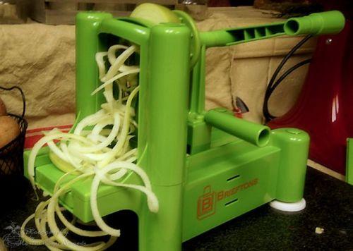 Brieftons Tri-Blade Spiral Slicer Spaghetti Blade