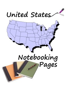 United States Notebooking Pages