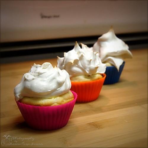 Gluten Free Lemon Meringue Cupcakes