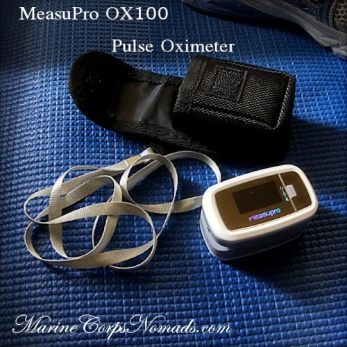 MeasuPro OX100 Pulse Oximeter