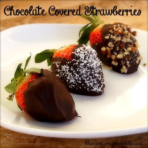 Chocolate Covered Strawberries - 3 Ways