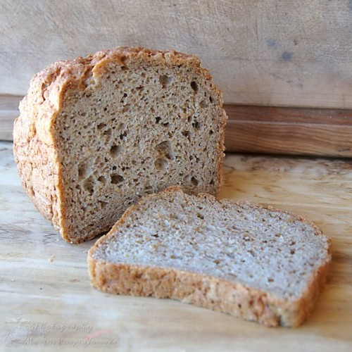 Homemade Gluten Free Ancient Grain Sandwich Bread