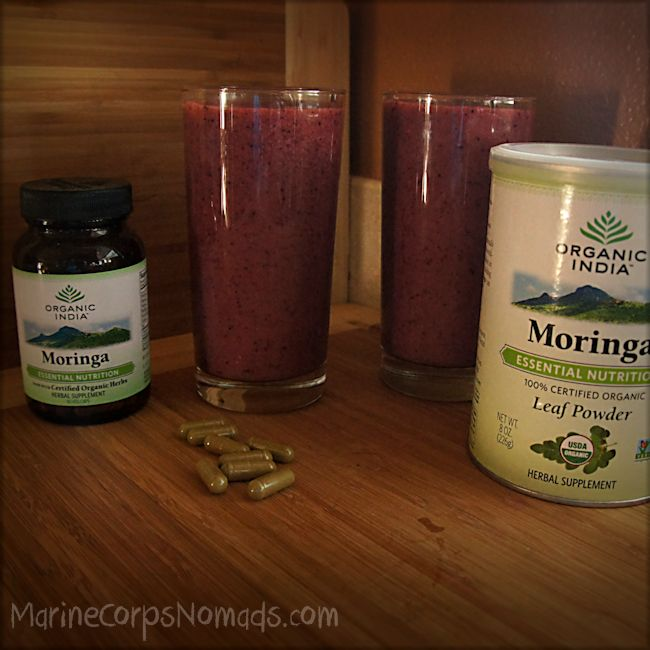 Moringa Powder and Capsules