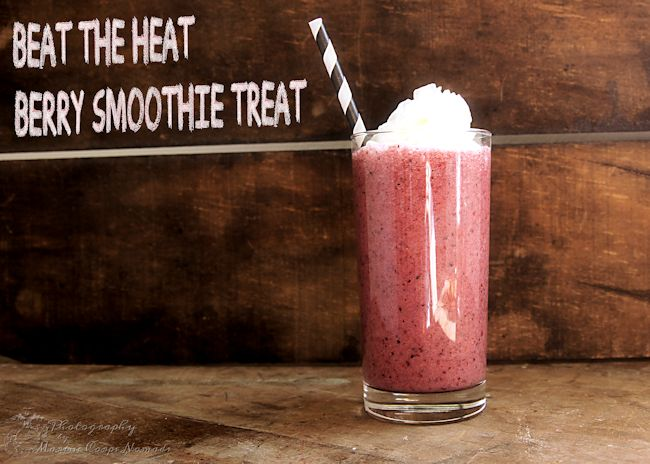 Beat the summer heat with berry smoothie treats