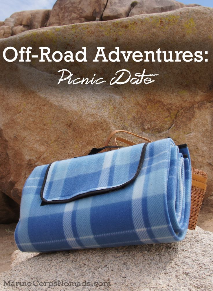 Off-road adventures with our Practico picnic blanket