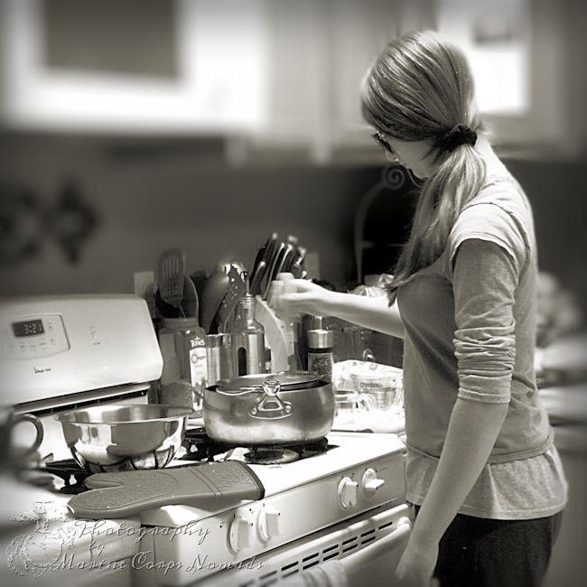 Munchkin cooking