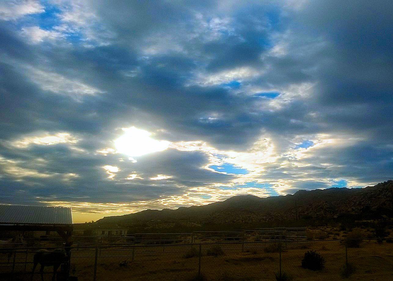 Beautiful Fall Morning Sky