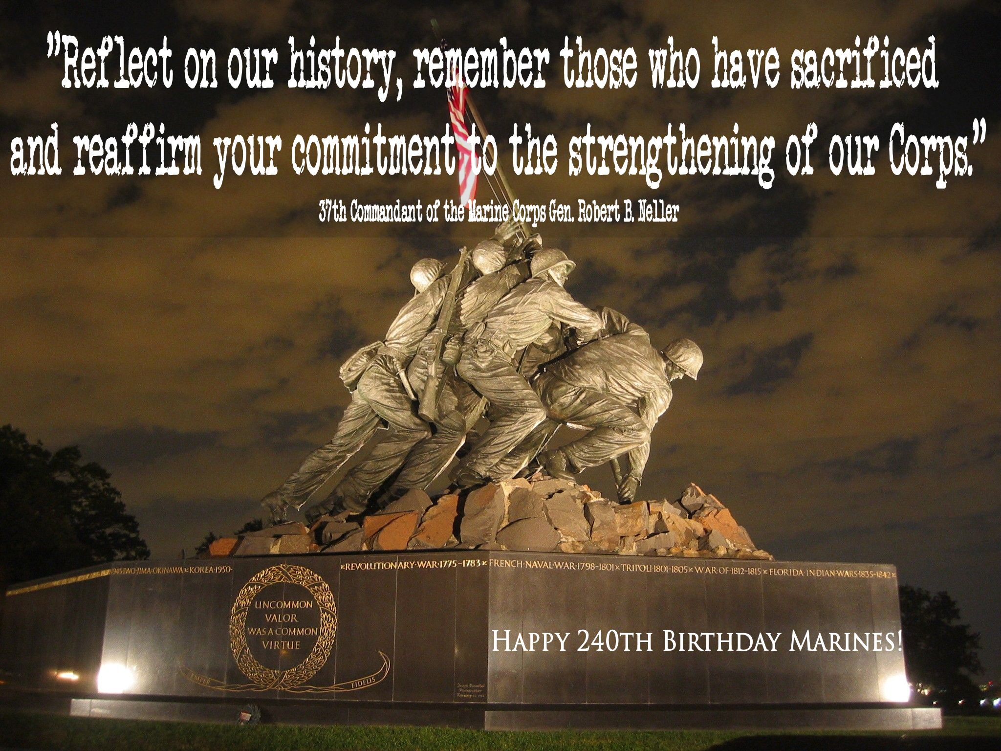 Happy 240th Birthday Marines