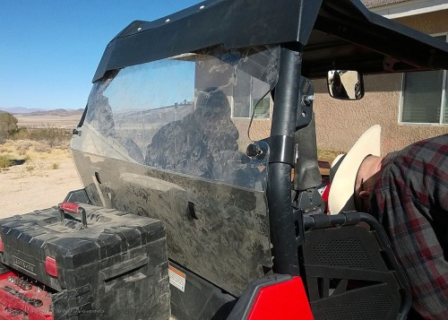 Add the clear back to the RZR