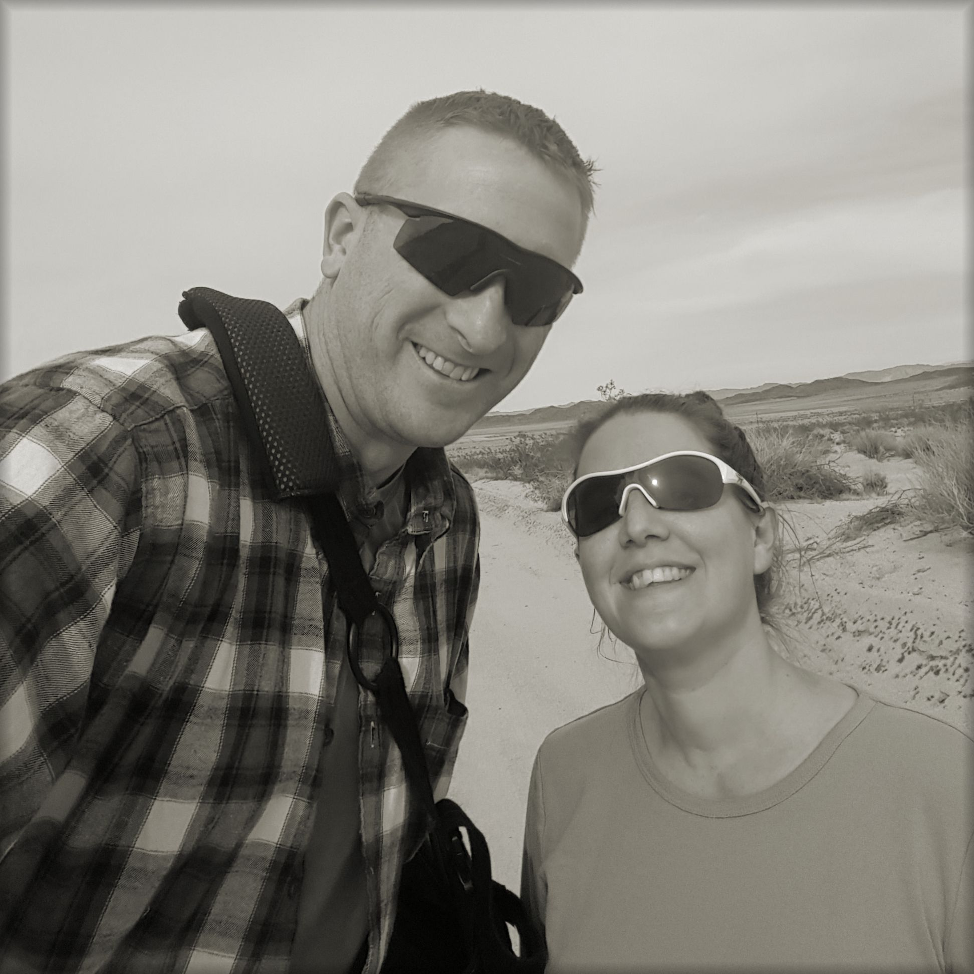 Our daily walk as a couple for rehab.