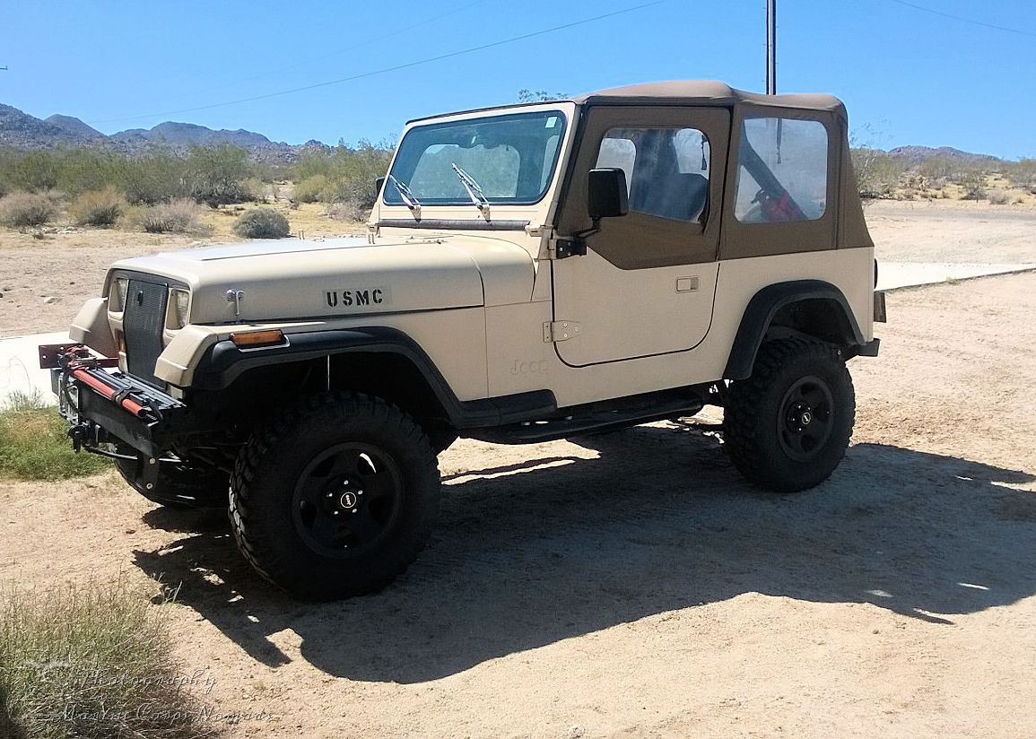 New (to me) 1989 Jeep YJ