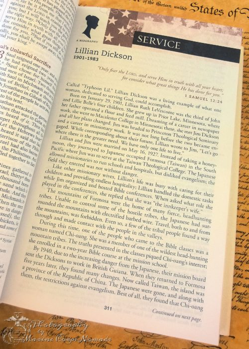American Women's Bible portraits of women in American history